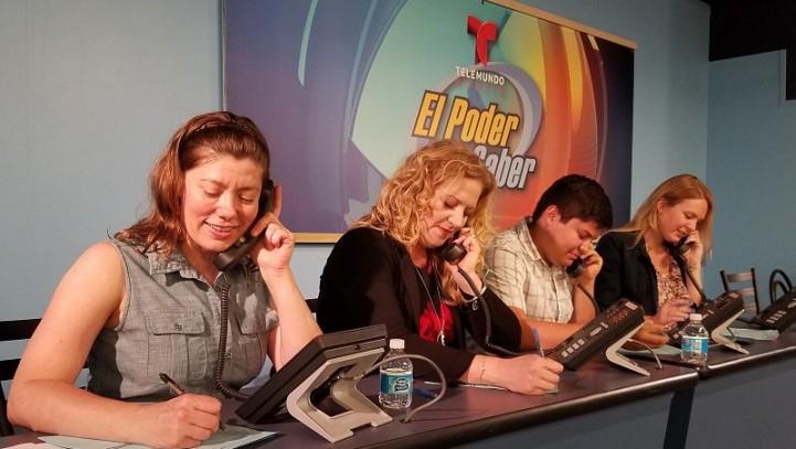 El Poder de Saber! — Telemundo Austin Phone Bank